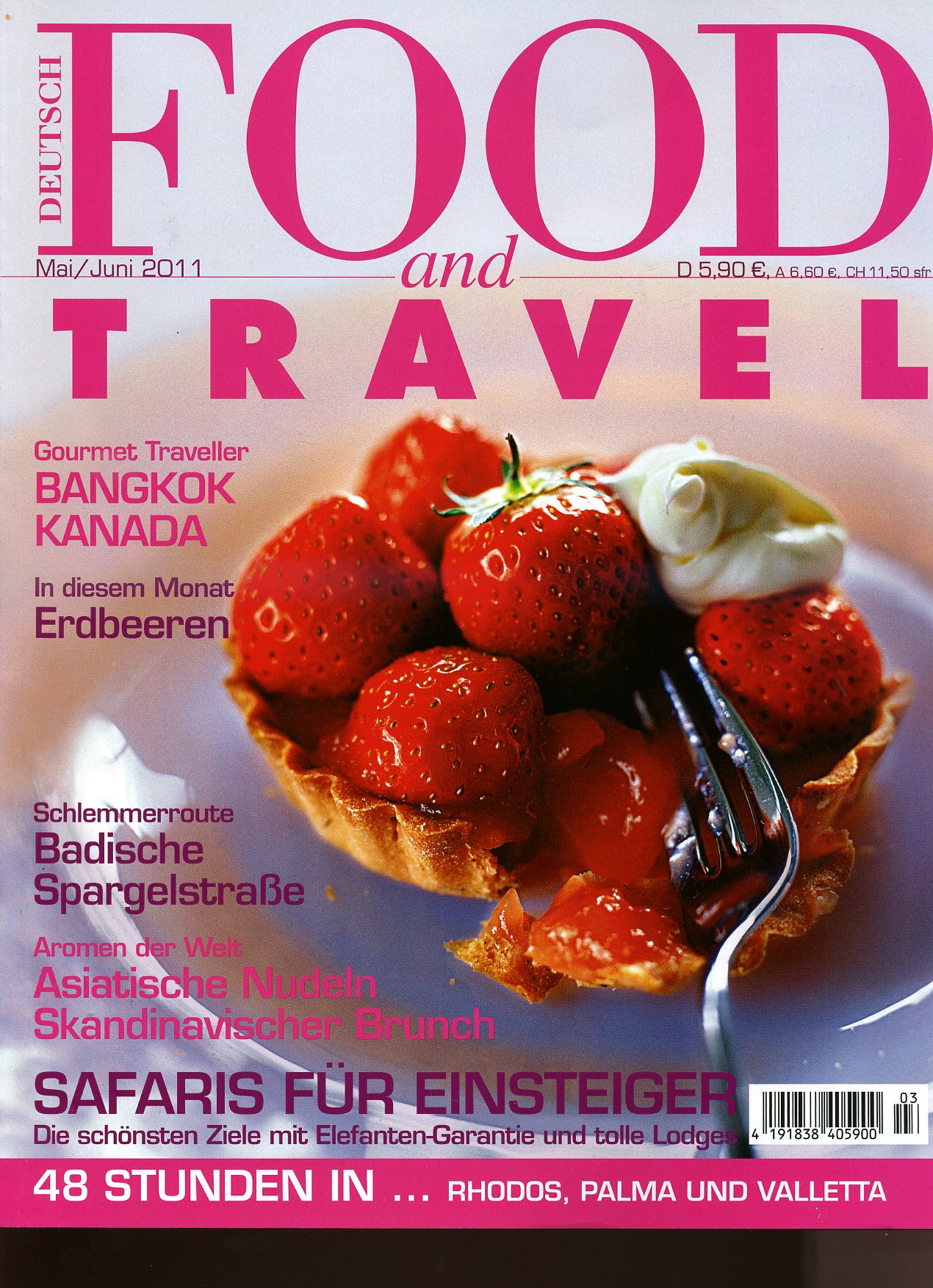 Cover Foodand Travel